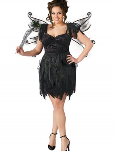 Plus Size Midnight Fairy Costume buy now