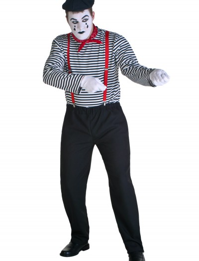 Plus Size Mime Costume buy now