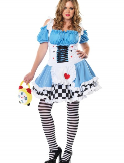 Plus Size Miss Wonderland Costume buy now
