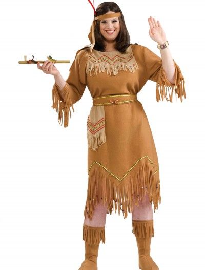 Plus Size Native American Costume buy now