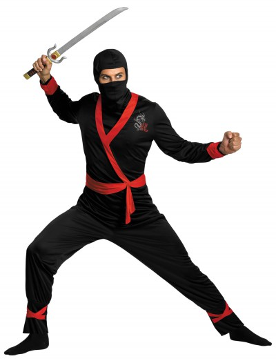 Plus Size Ninja Master Costume buy now