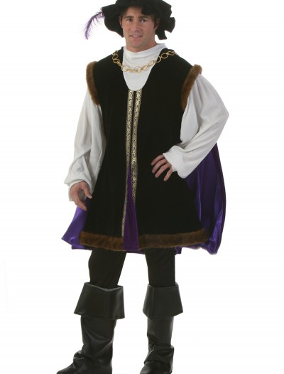 Plus Size Noble Renaissance Man Costume buy now