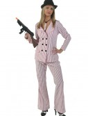 Plus Size Pink Gangster Moll Costume buy now
