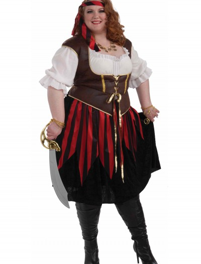 Plus Size Pirate Lady Costume buy now