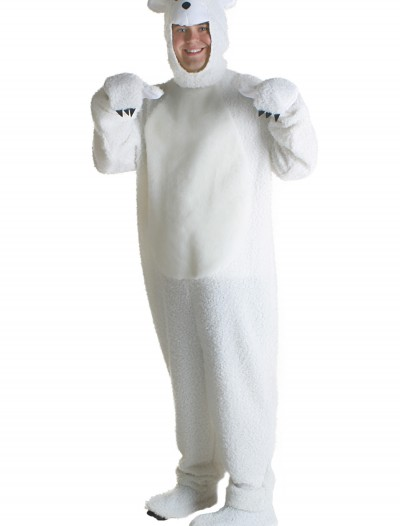 Plus Size Polar Bear Costume buy now
