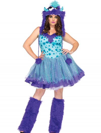 Plus Size Polka Dotty Monster Costume buy now