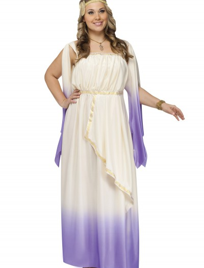 Plus Size Purple Goddess Costume buy now