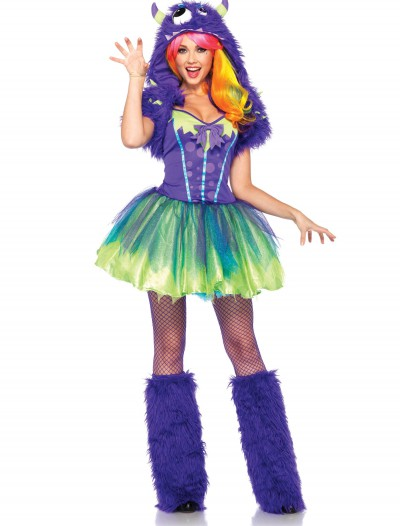 Plus Size Purple Posh Monster Costume buy now