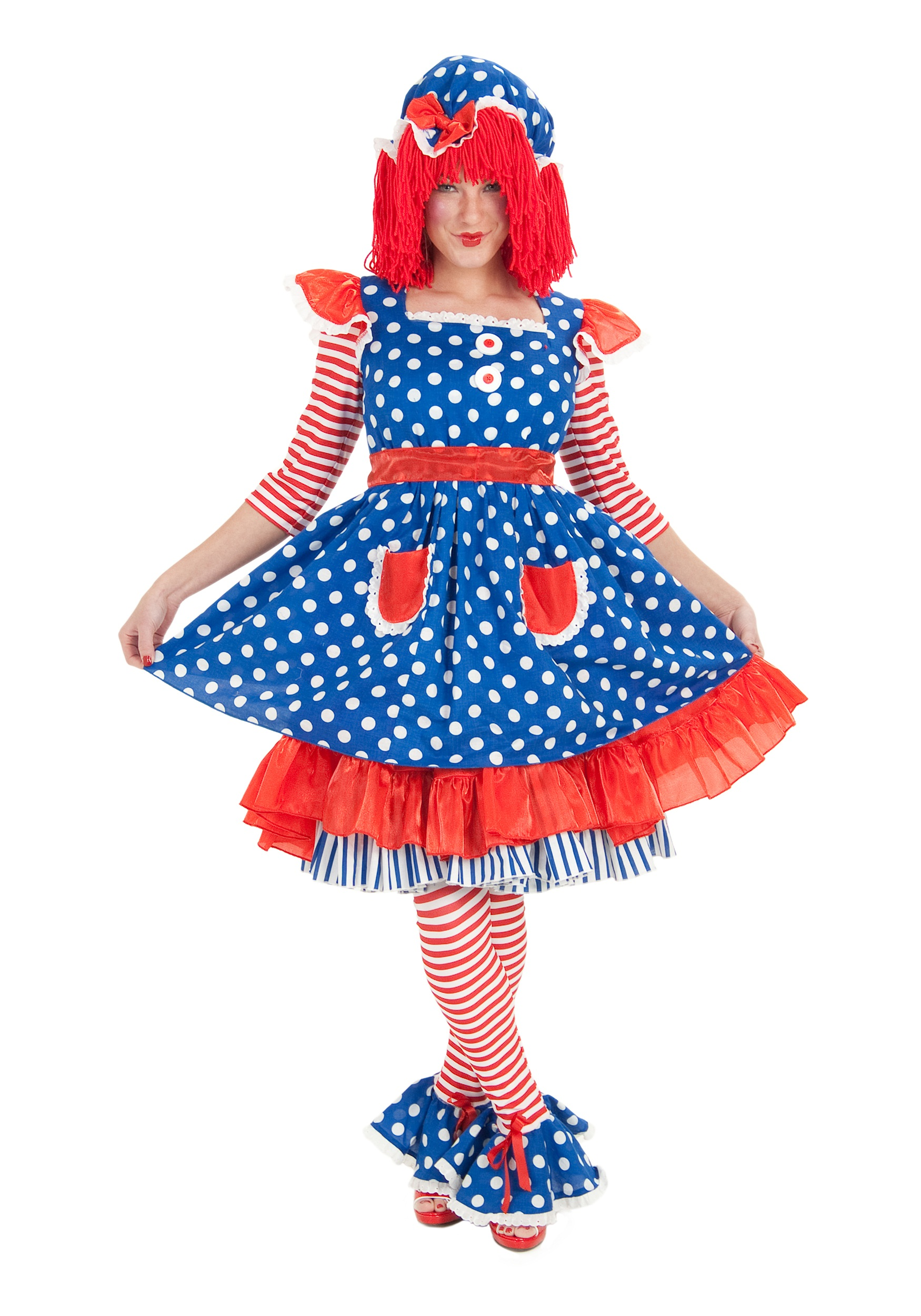 Plus Size Adult Raggedy Ann Costume  sc 1 st  Halloween Costumes & Plus Size Adult Raggedy Ann Costume - Halloween Costumes