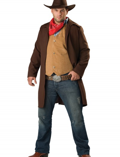 Plus Size Rawhide Cowboy Costume buy now