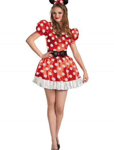 Plus Size Red Minnie Classic Costume buy now