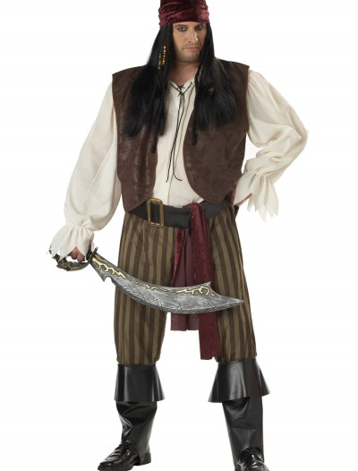 Plus Size Rogue Pirate Costume buy now