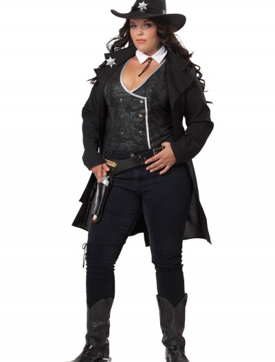 Plus Size Round Em Up Cowgirl Costume buy now