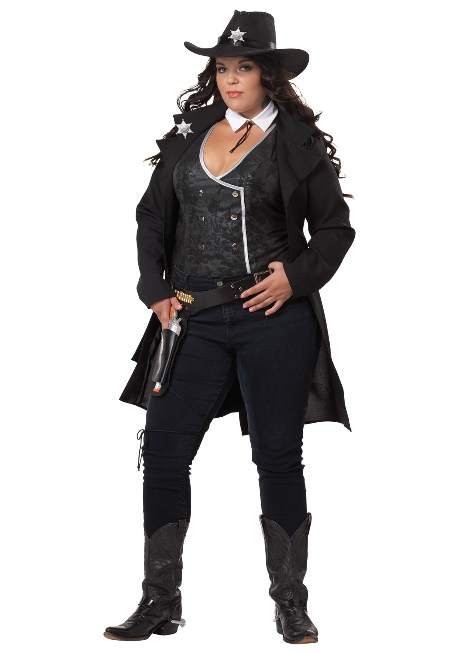 Plus Size Round Em Up Cowgirl Costume  sc 1 st  Halloween Costumes & Plus Size Round Em Up Cowgirl Costume - Halloween Costumes