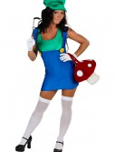 Plus Size Sexy Green Plumber Costume buy now
