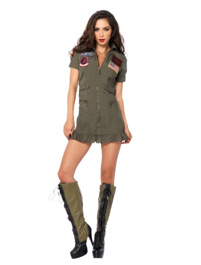 Plus Size Sexy Top Gun Costume buy now