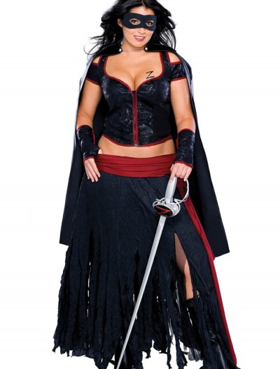 Plus Size Sexy Zorro Costume buy now
