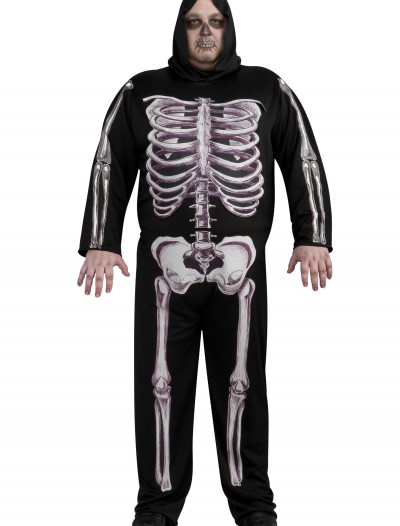 Plus Size Skeleton Costume buy now
