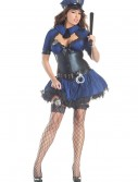 Plus Size Sultry Officer Costume buy now