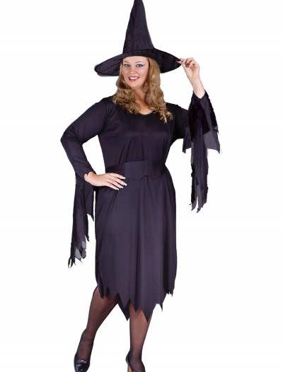 Plus Size Tattered Witch Costume buy now