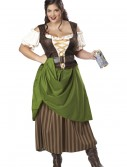 Plus Size Tavern Maiden Costume buy now
