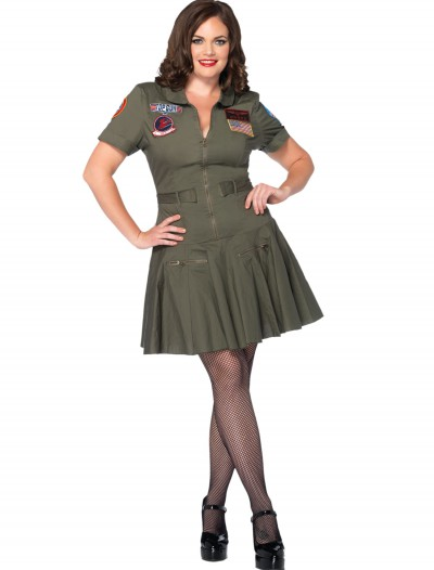 Plus Size Top Gun Flight Dress buy now