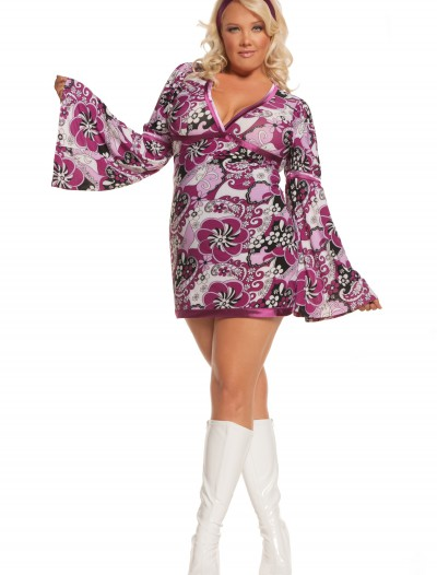 Plus Size Vintage Vixen Costume buy now