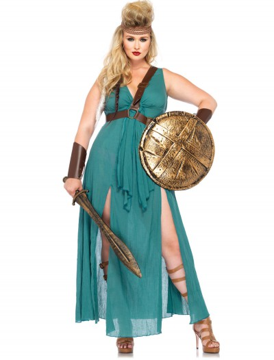 Plus Size Warrior Maiden Costume buy now