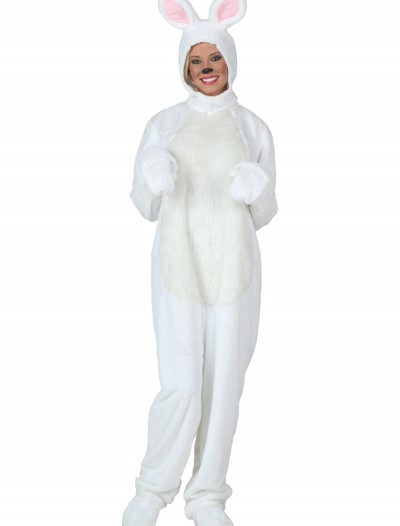 Plus Size White Bunny Costume buy now