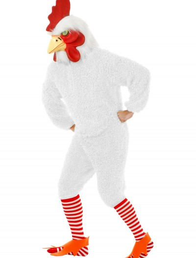 Plus Size White Rooster Costume buy now