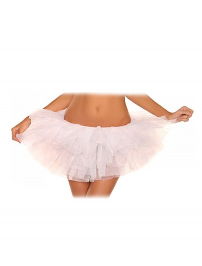 Plus Size White Tutu Petticoat buy now
