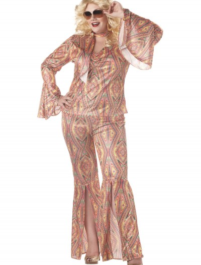 Plus Size Women's Disco Costume buy now