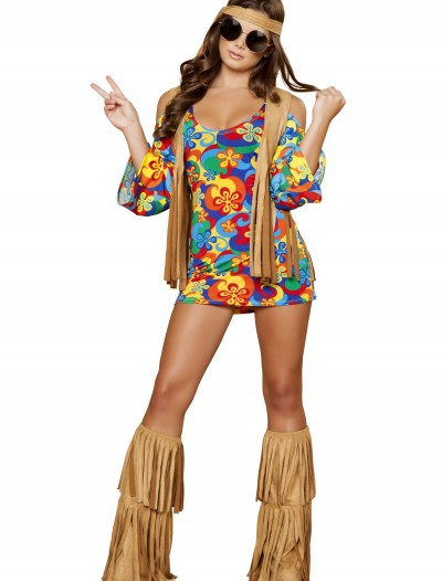 Plus Size Womens Hippie Hottie Costume buy now