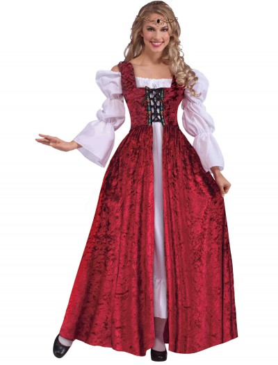 Plus Size Women's Medieval Laced Gown buy now