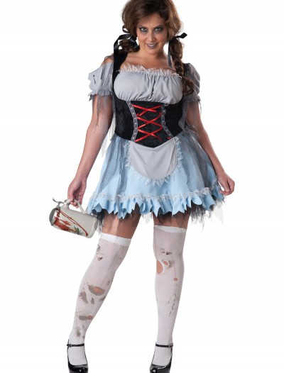Plus Size Zombie Beer Maiden Costume buy now