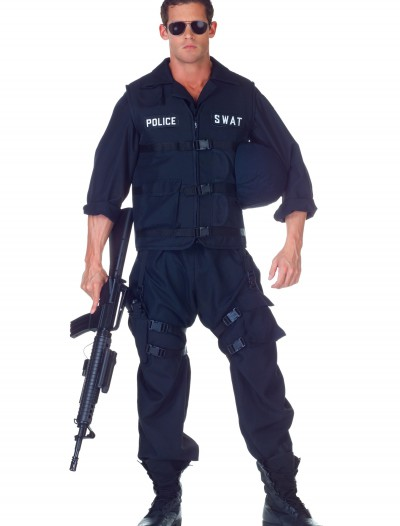Plus Size SWAT Jumpsuit Costume buy now