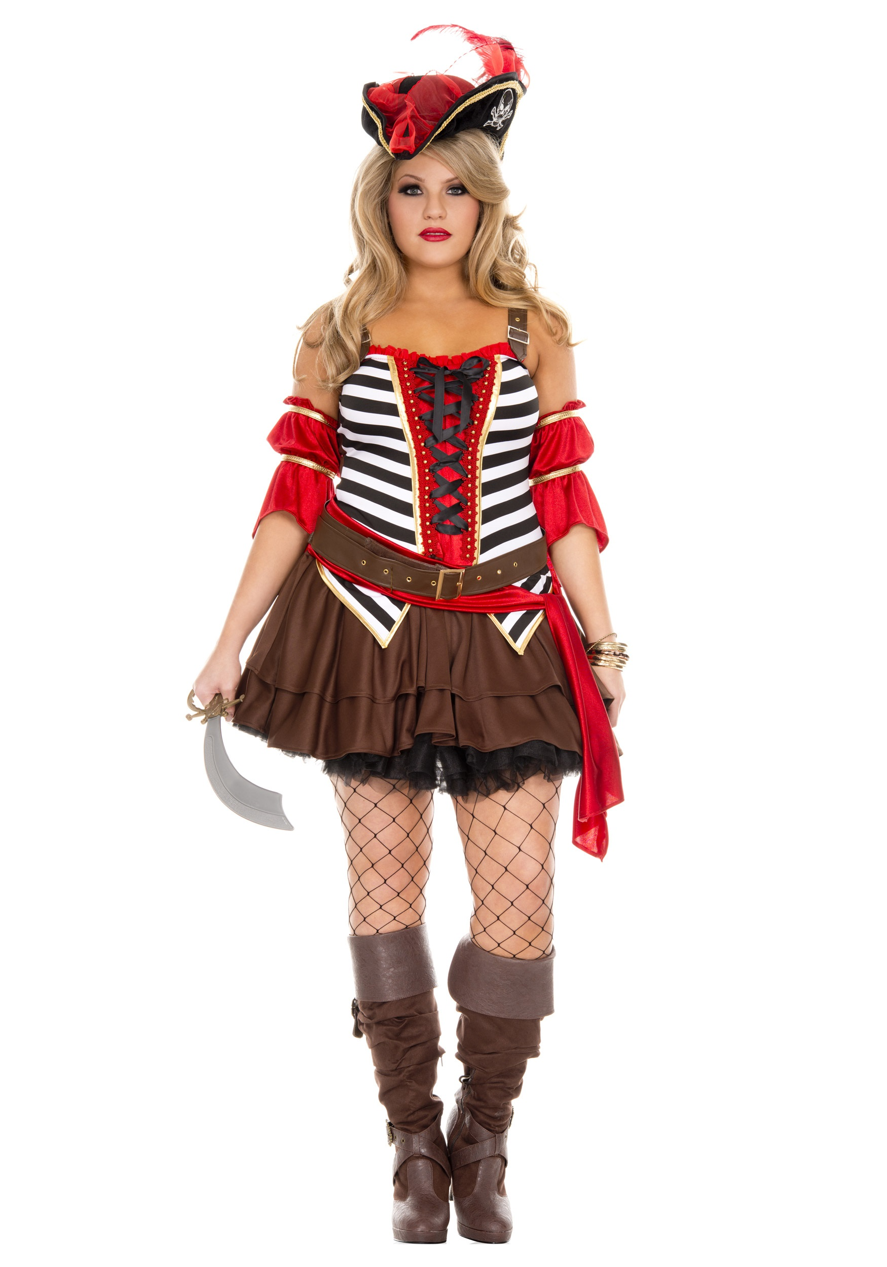 Plus Size Women S Private Pirate Costume Halloween Costumes