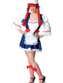 Plus Womens Storybook Rag Doll Costume buy now