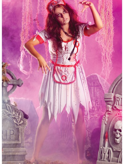 Plus Zombie Nurse Costume buy now