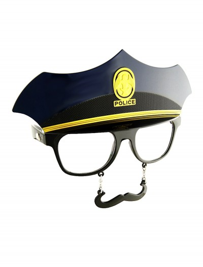 Police Mustache Glasses buy now