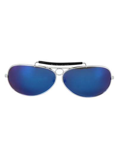 Police Glasses Silver and Black buy now