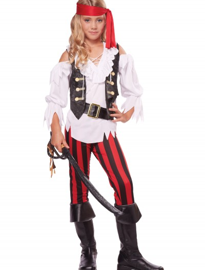 Girl's Posh Pirate Costume buy now