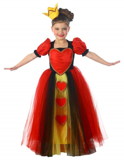Child Princess Queen of Hearts Costume buy now