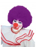 Purple Afro Clown Wig buy now
