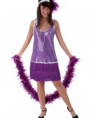 Purple Flapper Dress buy now