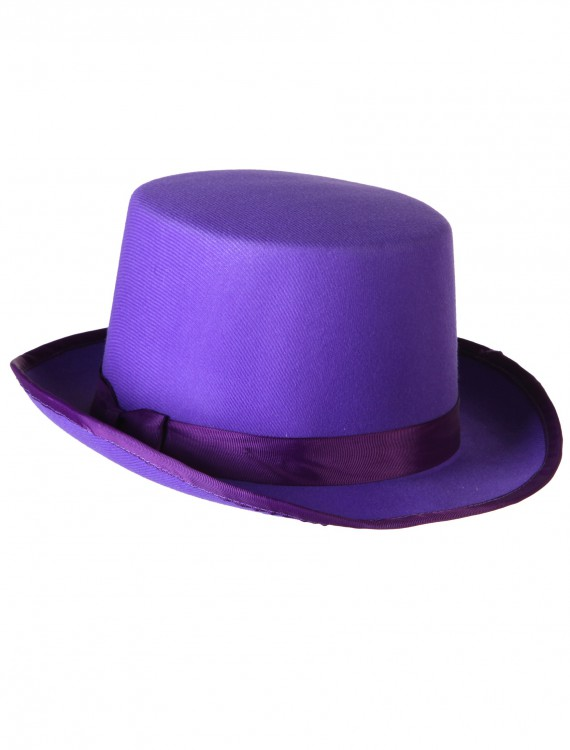 Purple Tuxedo Top Hat buy now