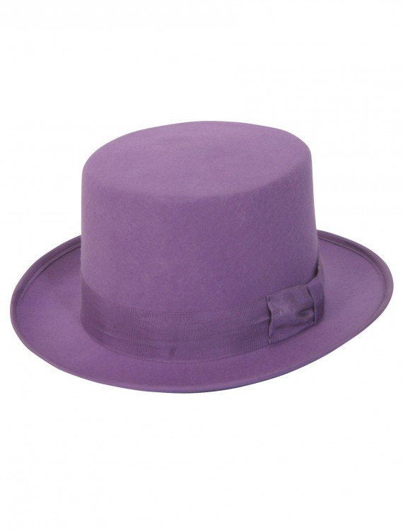 Purple Wool Top Hat buy now