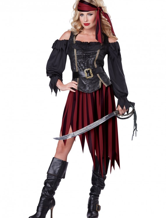 Adult Queen of the High Seas Costume buy now