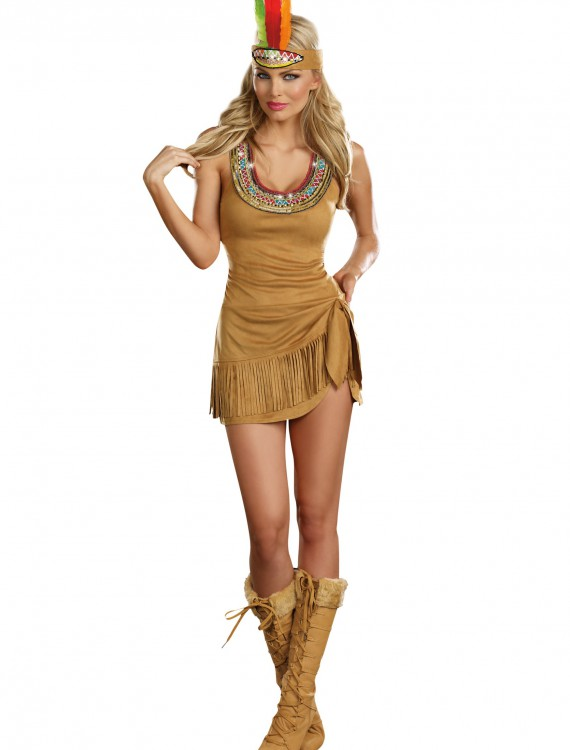 Queen of the Tribe Indian Costume buy now