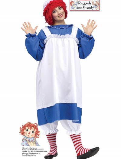 Raggedy Ann Adult Plus Size Costume buy now